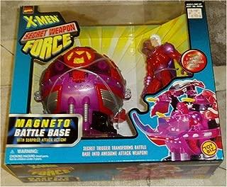 X-Men Secret Weapon Force Magneto Battle Base with Surprise Attack Action!