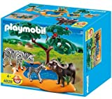 Playmobil - 4828 - Jeu de construction - Buffle africain avec zèbres