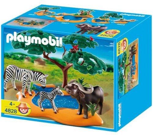 Playmobil 4828: Búfalo con Cebras   Wild