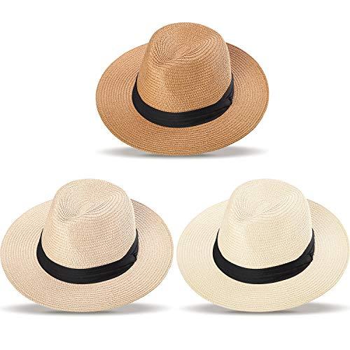 potente comercial sombrero panama enrollable pequeña