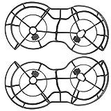 Drone Protective Propeller Guard, Cubierta de Protección Montada en Protector de Hélice de Plástico 2 Piezas Compatible para Mavic Mini Drone