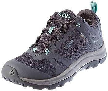 KEEN womens Terradora 2 Waterproof Low Height Hiking Shoe Steel Grey/Ocean Wave 9.5 US
