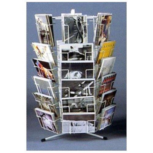 Tisch-Postkartenständer 12x17 mit 21 Taschen