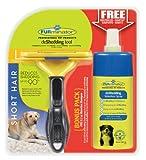 Furminator deshedding de Cuidado de Herramientas (para kurzhaarige Perros Grandes, tamaño L, con Gratis Anti de Pelo Secar Spray)
