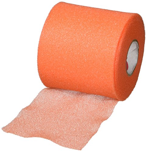 """Cramer Tape Underwrap, Sports PreWrap for Athletic Ankle, Wrist, and Injury Taping Jobs, Hair Tie, Headband, Patella Support, Pre-Wrap Athletic Tape Supplies, 2.75"""" X 21"""" Yard Rolls of Pre Wrap"""
