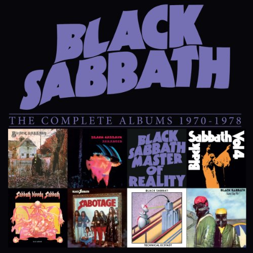 Black Sabbath: Complete Albums Box 1970-1978