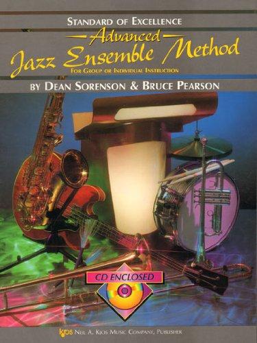 KJOS Music Company Standard Of Excellence Advanced Jazz Set Methode (Drum). Cd voor drums