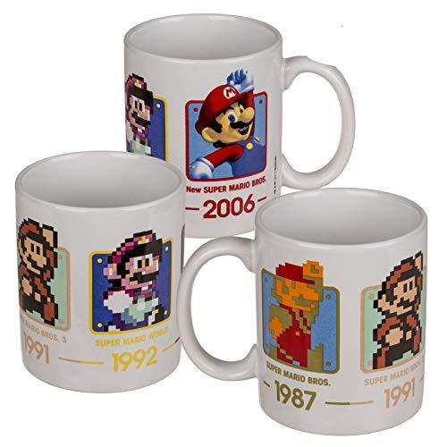 Preis am Stiel Taza de Super Mario | Mario Gaming & Consola...