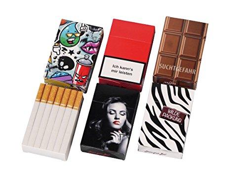 Zigarettenschachtel Überzieher Hülle Etui Pappschuber für Gr. L - LK Trend & Style