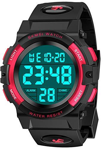 SOKY Geschenke für Jungen Kinder ab 6-15, Armbanduhr Digitaluhren für Mädchen Jungen Spielzeug für Jungen 6-15 Jahre Jungen Uhr Kinder Spielzeug Geschenke für Jungen Neujahrs Geschenke für Jungen
