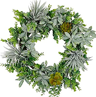 large-succulent-wreath