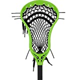 StringKing Complete 2 Pro Attack Lacrosse Stick with Mark 2A Head and Metal 2 Shaft (Lime/Black)
