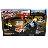 Far Out Toys Crash Racers Figure 8 Circuit Track Set | Huge Rack Track, Explosive Collisions! 40 Pieces Total | Race and Crash like a Pro, for Ages 5 and Up