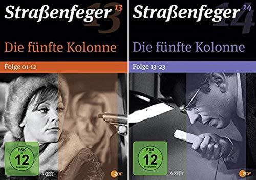 Straßenfeger: Die fünfte Kolonne, Folge 1-23 (8 DVDs)