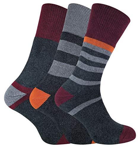 Sock Snob PENINSULA - 3 Pares Hombre Antiampollas