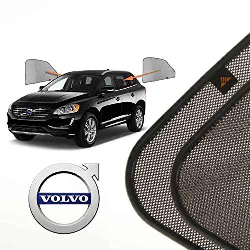 Tendine parasole auto laterali posteriori su misura per Volvo XC60 (1) (2008-2017) SUV 5 porte