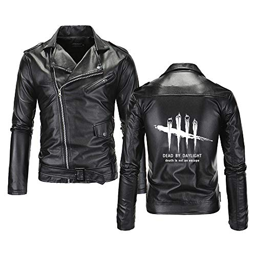 Dead by Daylight Pullover Manteaux Manteaux Veste de Sport Sweat-Shirt Adulte Tendance Hommes et Femmes Casual Automne et Hiver Mode Sauvage Confortable Unisexe (Color : Black02, Size : L)