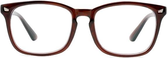 Cyxus Occhiali luce blu bloccanti per il blocco della cefalea UV [Anti Eyestrain] Occhiali retrò, Unisex (uomini/donne)