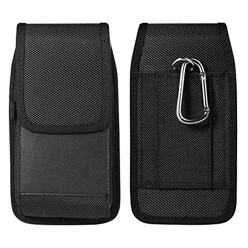Vertikale Gürtelschlaufe/Clip Handytasche Holster Case Kartenhalter für iPhone 11 XS Max / Galaxy S10 Plus S9 Plus J7 S7 Edge A10 A20 /LG V40 G8 G7 ThinQ / Huawei P30 Lite / OnePlus 7 Sony Xperia XZ3