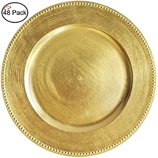 Best paper gold chargers Reviews