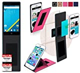 reboon Hülle für Elephone P6000 Pro Tasche Cover Case Bumper | Pink | Testsieger