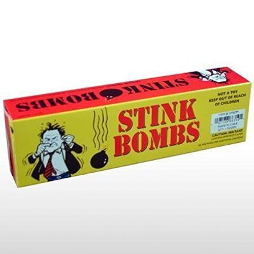 Rhode Island Novelty Stink Bombs Yellow Box
