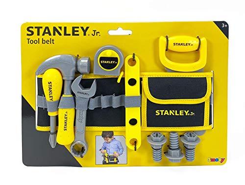 Smoby Stanley 360123 - Cinturón de Herramientas para niños (14 Accesorios)