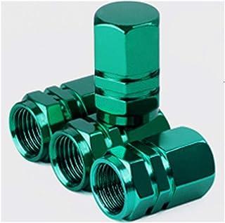 Zyj stores 4 stuks Aluminium Hex band ventiel steel caps Hexagon autobandventiel Covers for Amerikaanse Valves Car-styling...