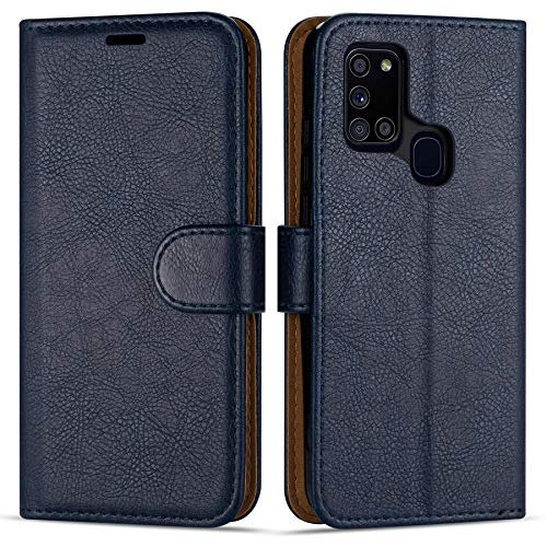 avis smartphone premier professionnel Étui à Rabat Case Collection de Style Portefeuille pour Samsung Galaxy A21s (6,5 pouces)…