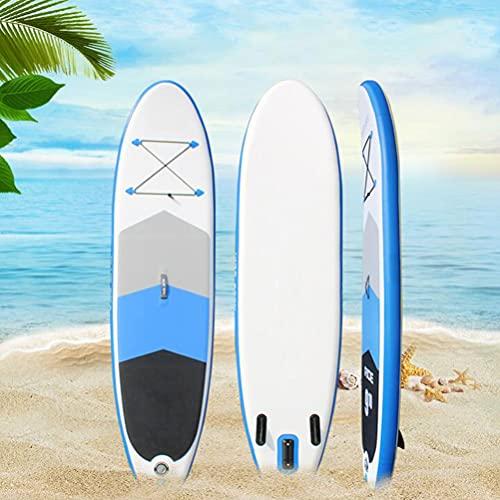 Tavola Surf Paddle Board 118x30x6 Pollici, Tavola SUP Gonfiabile, 264IB capacità portante, con...
