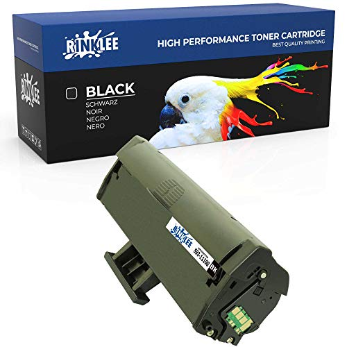 RINKLEE 593-11108 Toner Cartridge Compatible with Dell B1160 B1160w B1163 B1163w B1165 B1165nfw | High Yield 1500 Pages | Black