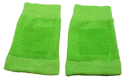 Shimasocks Shimasocks Baby Knieschoner Krabbelhilfe Knieschutz, Farben alle:grün, Größe:one size 3er Pack