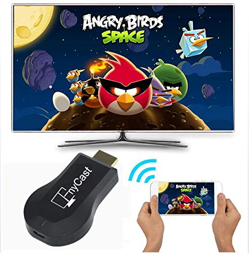 WFGZQ Pantalla inalámbrica Receptor WiFi Dongle TV Pantalla móvil Espejo Stick Soporte Airplay DLNA Miracast (1080P)