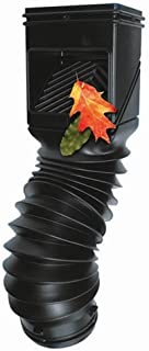 InvisaFlow Amerimax Home Products 4400 Downspout Filter, Black,