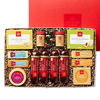 Hickory Farms Meat & Cheese Extra Large Gift Box   Gourmet Food Gift Basket Perfect for Birthdays Thinking of You Gifts Congratulations Gifts Retirement
