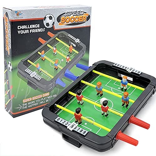 Rock88 Fútbol de Mesa para Padres e Hijos Simulación Battle Game For Party Juegos Multijugador Fútbol de Escritorio...