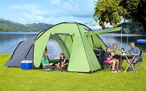 Berger Familienzelt Merano 3 Campingzelt Trekkingzelt Kuppelzelt Tent Zelt 3000mm Festival Zelten