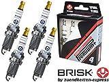 Brisk, Premium + Plus P21 1921 - Candele di accensione all'iridio, 4 pezzi