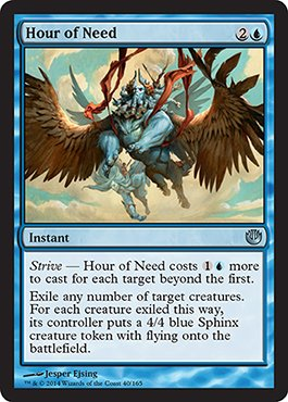 Magic The Gathering - Hour of Need (40/165) - Journey into Nyx