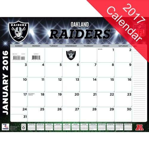 Oakland Raiders 2017 Calendar