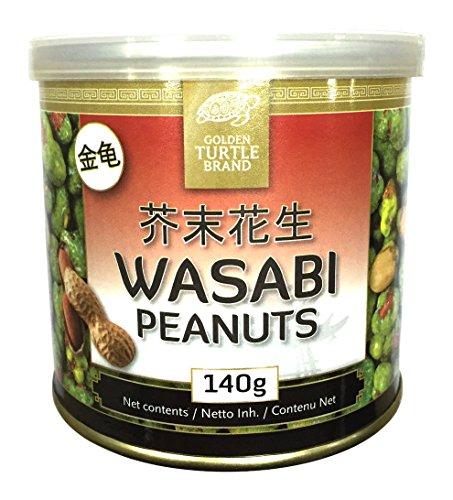 Golden Turtle Aperitivos Cacahuetes Wasabi - 140 gr