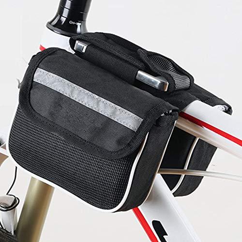 Zhantie Bolsa impermeable para teléfono móvil con pantalla táctil para bicicleta