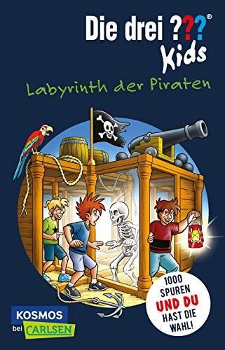 Die drei ??? Kids und du: Labyrinth der Piraten: Spannender Kinderkrimi zum Miträtseln