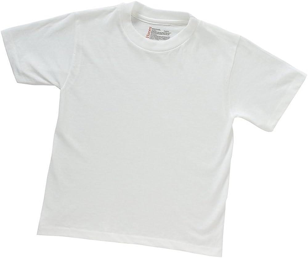 Hanes ComfortSoft Tagless Boys'Crewneck T-Shirt 3-Pack