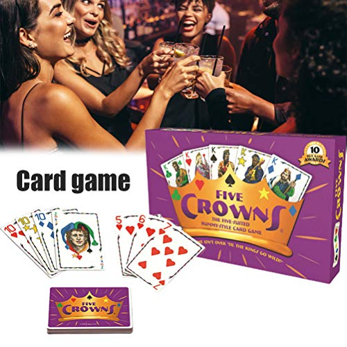 BSTTAI Rummy card game, five crowns card game, fun and entertainment with friends and family