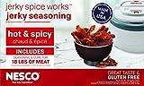 NESCO HJ-18, Jerky Spice Works, Hot & Spicy Flavor, 9 count