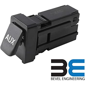 RLP 86190-02010 Aux Jack Port fit Tacoma Corolla Tundra Aux Port Auxiliary Input Jack Stereo Adapter Assembly 86190 02010