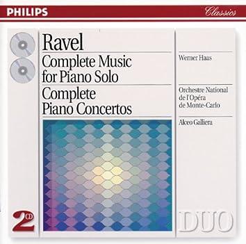 Ravel: Complete Music for Piano Solo/Piano Concertos