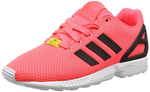 adidas Unisex-Kinder ZX Flux Low-Top, Rot (Flash Red S15/Core Black/FTWR White), 38 2/3 EU