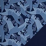 Swafing GmbH Softshell Dinosaurier dunkelblau - Stoff -